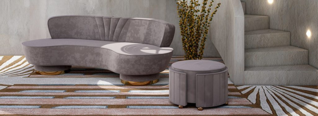 5 Stylish Ways To Add Mid-Century Ottomans In Your Home_3