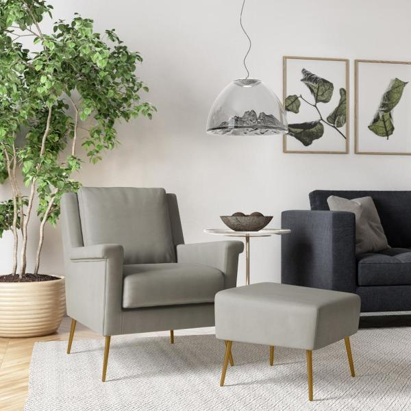 5 Stylish Ways To Add Mid-Century Ottomans In Your Home_4