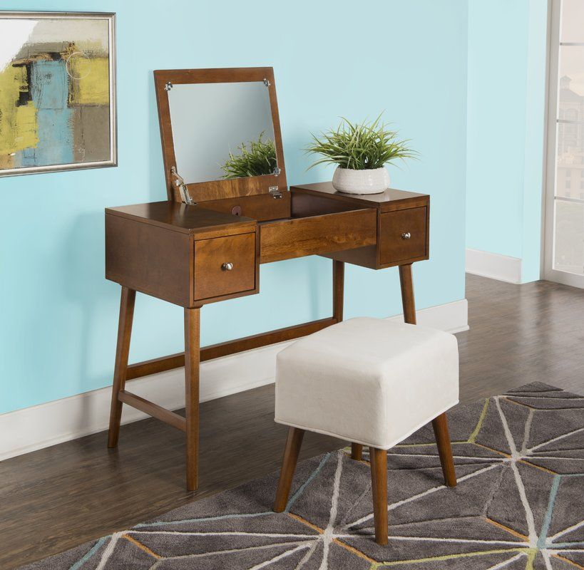 5 Stylish Ways To Add Mid-Century Ottomans In Your Home_5