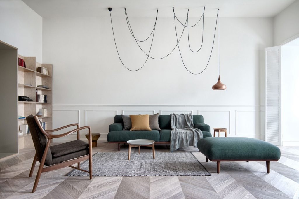 5 Stylish Ways To Add Mid-Century Ottomans In Your Home_6